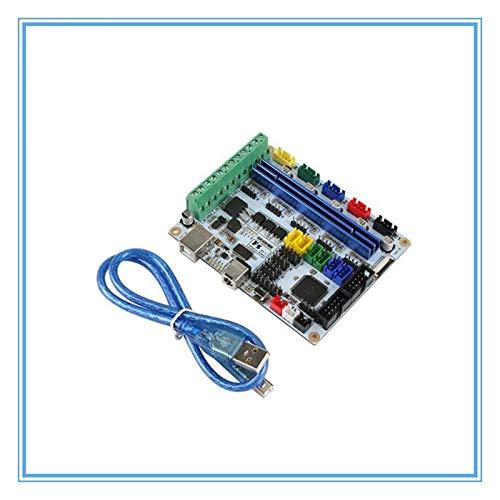 L-Yune,bolt 1pc 3D-Drucker Motherboard F5 V1.2 Control Board kompatibel mit Ramps1.4 Kann MKS Base Motherboard ersetzen
