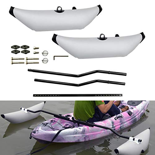 HXSD Water Sports Kayak PVC Inflatable Outrigger Float with...
