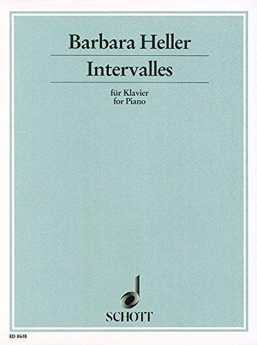 Intervalles: Klavier.