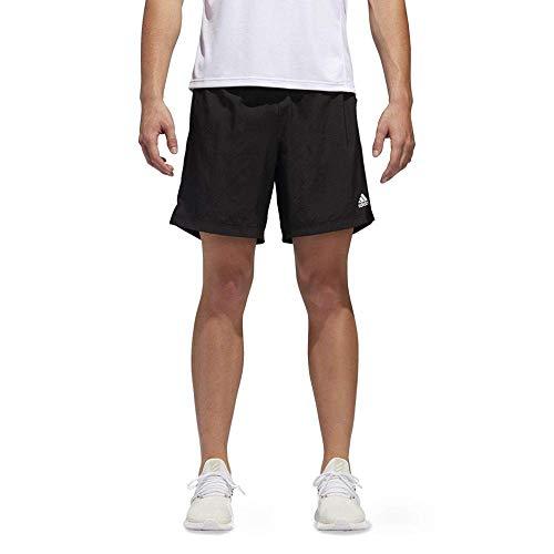 "adidas Men's Own The Run Shorts, Black, S 7"""