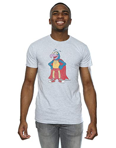 Muppets Herren Classic Gonzo T-Shirt X-Large Heather Grey