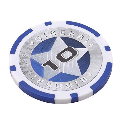 Winwinfly 1 Set Kasinochips Texas Hold'em Pokerchips Pokerstars (Nummer 10)