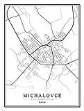 Bild auf Leinwand Deutschland Kassel Stadtkarte Bilder