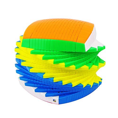 RUIGIN Formación del Juego del Juguete Educativo Cerebro Cubo de la Velocidad 17X17x17 Stickerless Cubos mágicos de Gama Alta Smooth Puzzle Cubo Profesional de Gama Alta de los niños