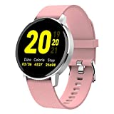 RUNDOING Full Touch Screen Smart Watch for Android iOS Phones IP68 Waterproof,Fitness Tracker with Sleep/Heart Rate...
