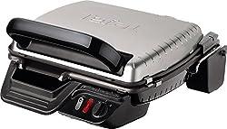 Tefal Kontaktgrill 2in1 GC3050 [Kontaktgrill/Sandwichmaker; Aufklappbar Als Tischgrill/BBQ Und Doppelter Grillfläche; Sandwich, Toasts, Steak, Panini; Regelbarer Thermostat; Antihaftbeschichtet;2000W]