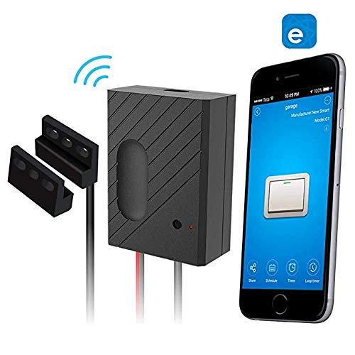 Garage Telecomando senza fili Smart Home Garage Apriporta - Controllo tramite Smart Phone, Amazon Alexa e Google Assistant Enabled Devices, con ewelink