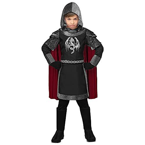 WIDMANN Disfraz de Caballero Medieval Oscuro Infantil L-(11/13 aos)