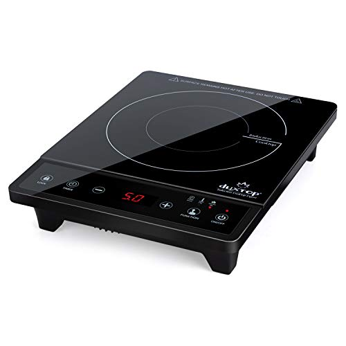 Duxtop Portable Induction Cooktop, Countertop Burner, Induction Burner with Timer and Sensor Touch,...
