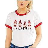 Yazidan Loving - Camiseta de manga corta para mujer y hombre, diseño con texto 'Loving' 4-rojo S
