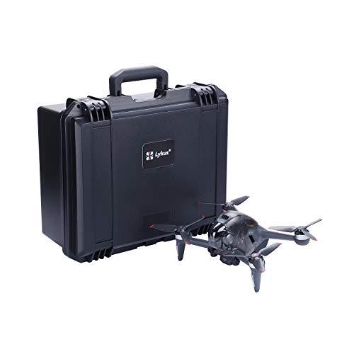 Lykus Titan F100 Custodia Rigida Impermeabile per DJI FPV Drone Combo, custodia per scheda MicroSD gratuita inclusa