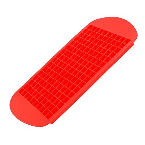 Cubiteras Para Hielo Silicona Cubo de hielo Tray 160 Gridos 1x1cm Fruta de silicona Fabricante de cubitos de hielo DIY Creativo Pequeño Cubo de hielo Molde Forma cuadrada Accesorios de cocina Cubitera