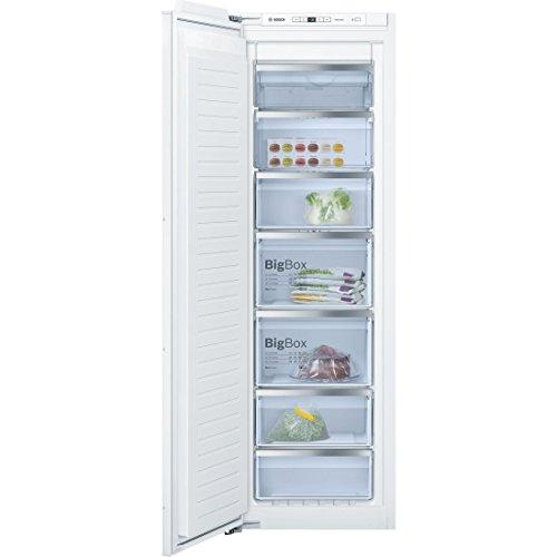 Bosch Serie 6 GIN81AC30 Integrado Vertical 211L A++ Blanco - Congelador (Vertical, 211 L, 20 kg/24h, SN-T, Sistema de descongelado, A++)