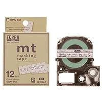 キングジム テプラPROテープドットコス/グレー字 SPJ12AP 00242382【まとめ買い3個セット】