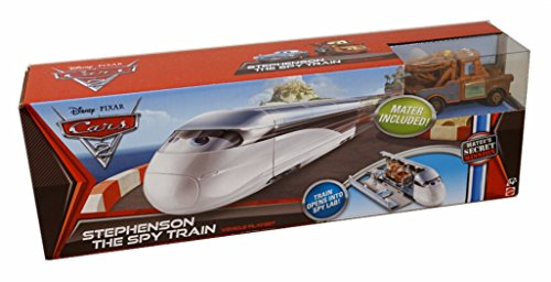 Disney Pixar Cars Stephenson The Spy Train V5081