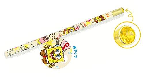 日本製 スポンジボブ ジュエリー鉛筆 らくがき SpongeBob ボブ 鉛筆 えんぴつ エンピツ 学校 勉強 文房具 映画 かわいい SB5523185LG