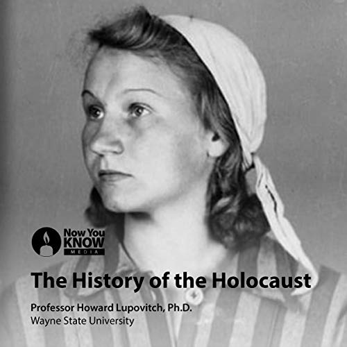 The History of the Holocaust audiobook cover art