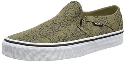 Vans Asher, Sneaker Donna, Serpente Kelp, 39 EU