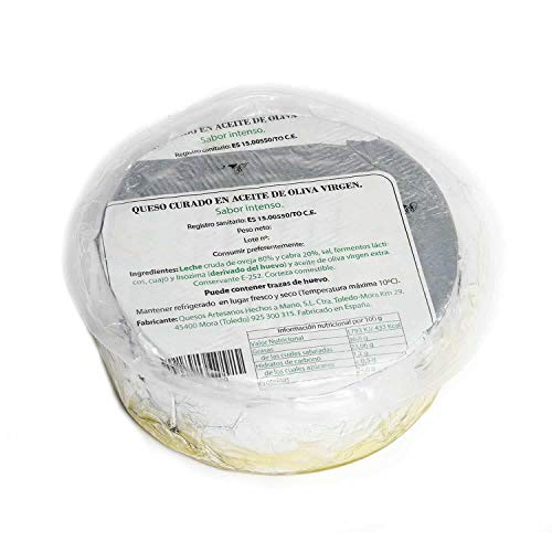 Queso Curado en Aceite de Oliva Virgen Extra 3kg Aprox HM