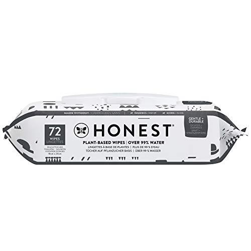 Honest Toallitas para Bebé, 72 toallitas - patrón de juego