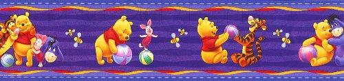 Disney Original Winnie Pooh Puuh und Tigger Tapete Bordüre 10M x 10,6cm Borte Selbstklebend (Doppelte Länge) NEU