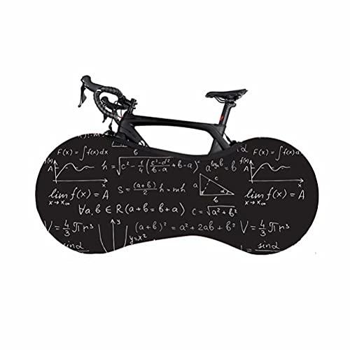 HGTRH Funda para Rueda de Bicicleta Antipolvo Colgada Elástica Lavable Antiarañazos Plegable, La Mejor Solución para Mantener los Suelos y Las Paredes Libres DE Suciedad