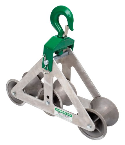 Greenlee 6036 Cable Puller Triple Sheave Cable Guide