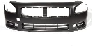 CarPartsDepot, Front Bumper Cover Primed Plastic CAPA Certified Replacement, 352-362163-10-CA NI1000258 620229N00H