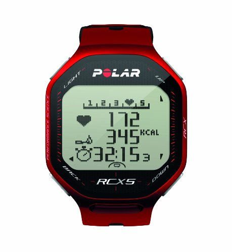 POLAR Herzfrequenzmessgerät RCX5 GPS, red, 90042075