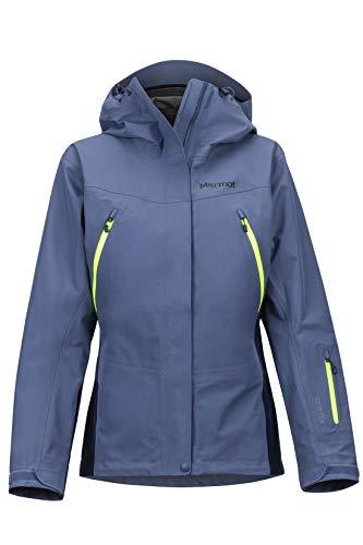 Marmot Damen Hardshell Ski- Und Snowboard Jacke, Winddicht, Wasserdicht, Atmungsaktiv Wm's Spire, Storm/Arctic Navy, M, 35350