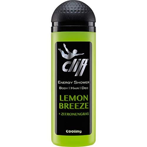 Cliff Duschgel Energy Shower Lemon Breeze 50 ml, 10er Pack (10 x 50 ml)