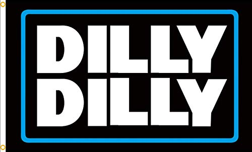 QOR Balance Dilly Dilly Flag Cool Beer 3x5 Ft Flag,Polyester Durable and softable Funny Banner for College Dorm Room,Man Cave Tailgates and Parties Décor