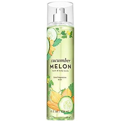 Bath and Body Works CUCUMBER MELON Fine Fragrance Mist 8 Fluid Ounce (2019 Edition)