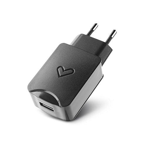 Energy Sistem High Power - Cargador de pared, 2.1 A, color negro