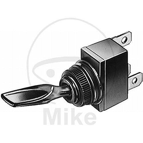 HELLA 6EG 001 567-122 Schalter - Kippbetätigung - Anschlussanzahl: 3 - geschraubt - Bohrung-Ø: 12,5mm - Ein/Aus Schalter - Schalterbeleuchtung: orange