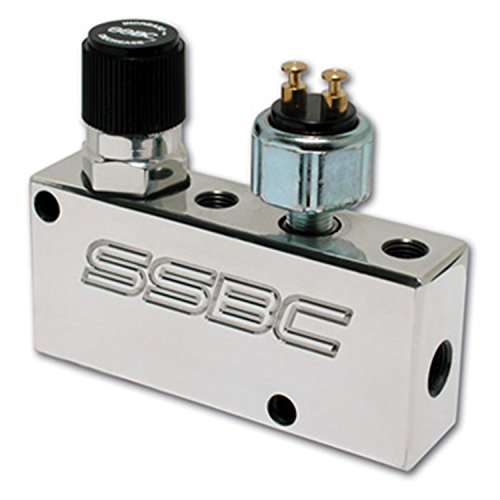 SSBC A0730P Polished Finish Adjustable Proportioning Valve and Distribution Block