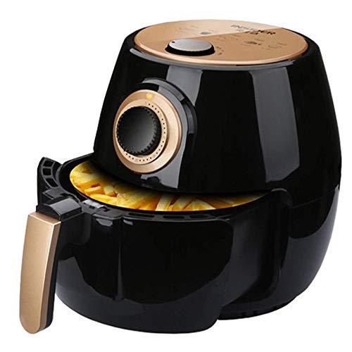 LYYJIAJU Air Fryer Zubehör Air Fryer 1300W Elektro-Heißluft-Friteusen Nonstick Cooker for gesunde Ölfreie Low Fat Kochen, Mit Rapid Air Circulation System Nonstick Korb.