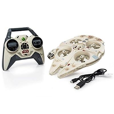 Air Hogs Star Wars: Episode VII The Force Awakens Remote Control Ultimate Millennium Falcon Quad