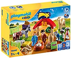 Playmobil - Mi Primer Belén, Juguete, Color Multicolor, 70047