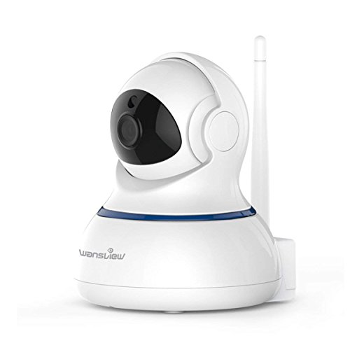 Wansview Wireless 1080P Security Camera, WiFi Home Surveillance IP Camera for Baby/Elder/Pet/Nanny Monitor, Pan/Tilt, Two-Way Audio & Night Vision SD Card Slot Q3-S