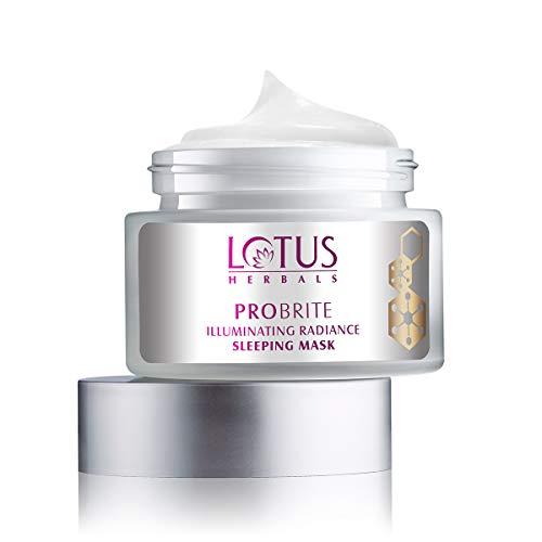 Lotus Herbals Probrite Illuminating Radiance Sleeping Mask, 50 g