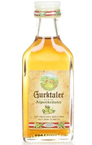 GURKTALER Amaro ALPENKRAUTER Austria 2 CL/LIQUORE Mignon da Collezione