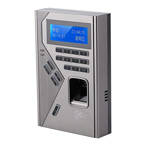 Control de Acceso por Huellas Dactilares, máquina de Asistencia Métodos prácticos de reconocimiento múltiple para el hogar