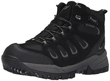 Propét mens Ridge Walker Hiking Boot Black 10.5 XXXW US