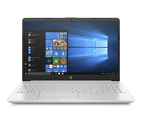 HP-PC 15-dw0005nl Notebook, Intel Core i5 8265U, 8 GB di RAM, Archiviazione SATA da 1 TB, Argento
