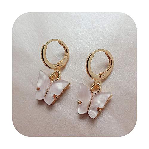Pendientes de gota de mariposa de la moda para las mujeres vintage joyería moderna fiesta boda accesorios de moda colgantes pendientes