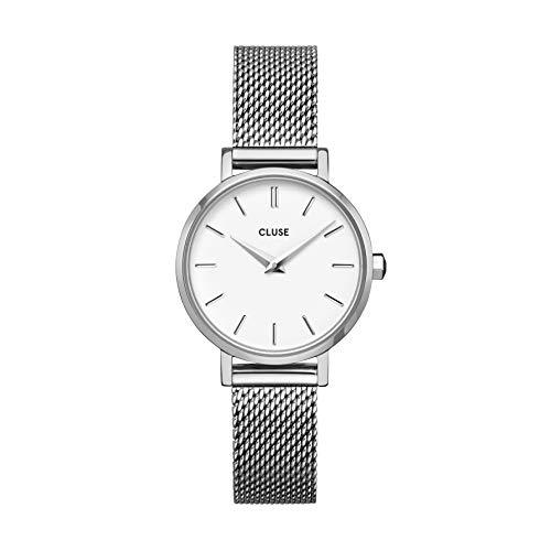 Reloj Solo Tempo de mujer Cluse Boho Chic. Correa de acero color plata, Cw0101211007