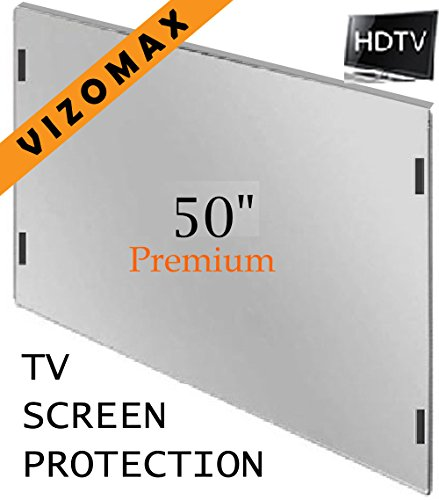 49 - 50 inch Vizomax TV Screen Protector for LCD, LED, OLED & QLED HDTV