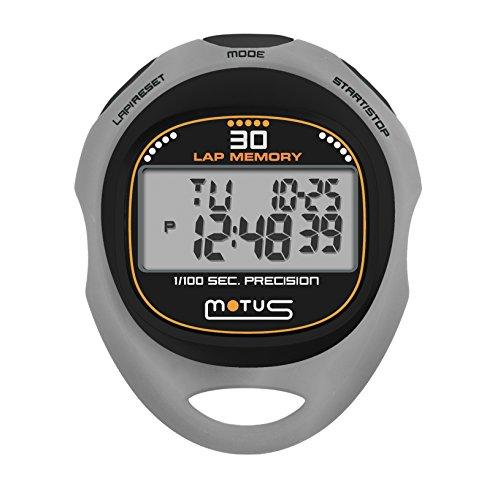 Motus Trainer MT38 Cronometro con 30 memorie Grigio