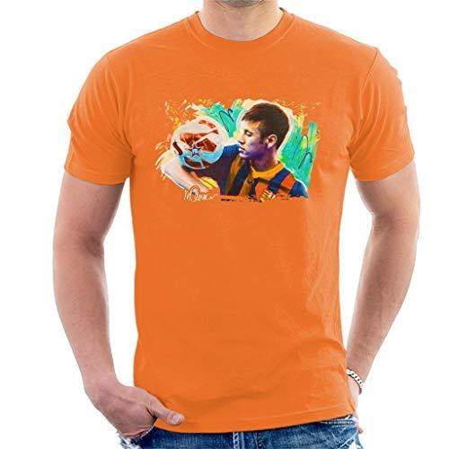 VINTRO Neymar Barcelona - Camiseta para hombre con estampado de Sidney Maurer...